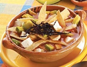 Sopa de Tortilla!