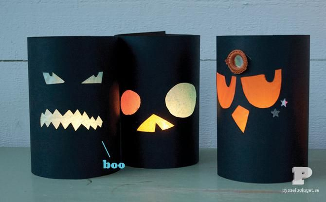 DIY Halloween : DIY Make your own Halloween Lanterns.  :  DIY Halloween Decor