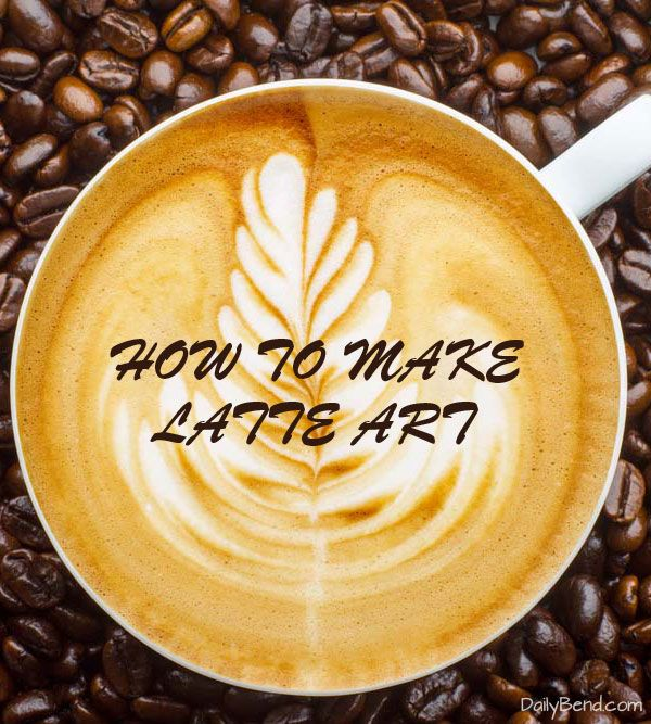 Want to impress your guests learn how to make creative Latte Art. #latteart