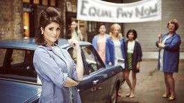 MADE IN DAGENHAM: based on the 1968 strikes that saw female workers at Ford's Dagenham plant go on strike with the aim of attaining equal pay. It follows wife and mother Rita O'Grady as she leads her fellow sewing machinists on an inspiring journey that turns into something far bigger that any of them ever imagined.