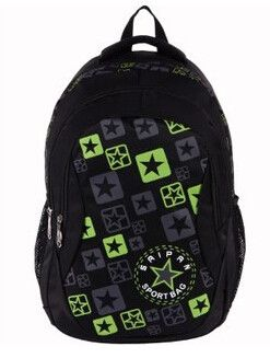 Students Fashion Casual Waterproof Large-Size School Backpack 4 Colors