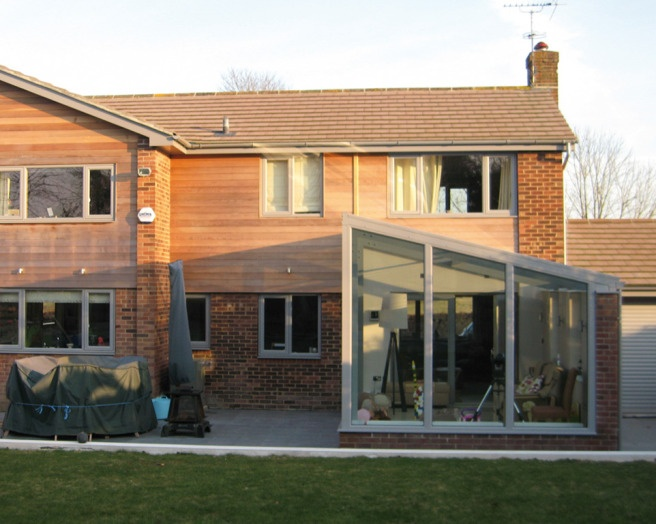 Wooden Cladding Before And After ~ Exterior house facelift before and after uk
