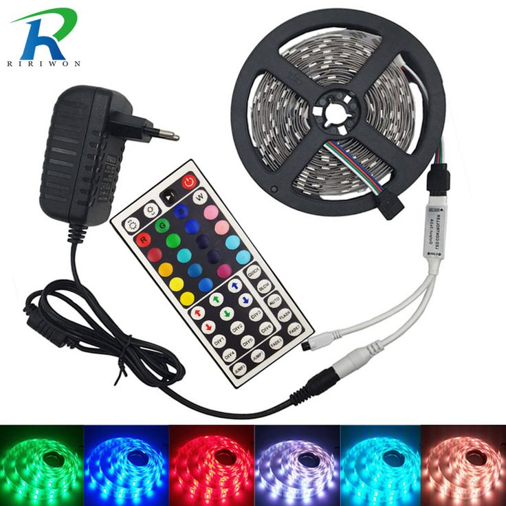 LED Strip 5050 DC12V 30LEDs/m 4m/lot Flexible LED Light RGB 5050 LED Strip and 44keys controller With Adapter EU Plug. Yesterday's price: US $13.32 (10.82 EUR). Today's price: US $7.99 (6.51 EUR). Discount: 40%.