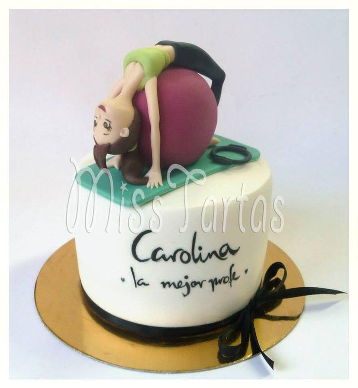 Yoga Themed Cake