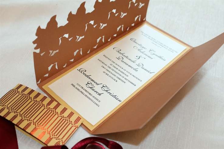 African Wedding Invitation: 17 Best Images About African Wedding On Pinterest