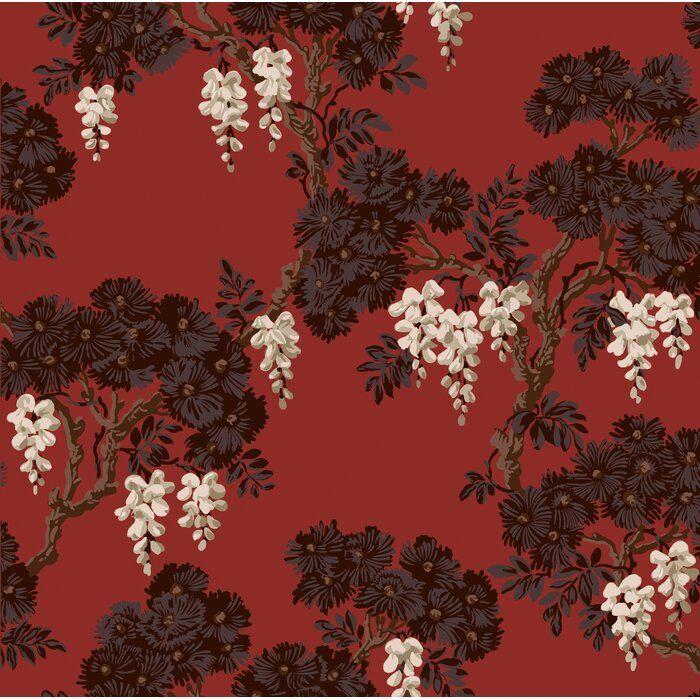 Wisteria 33 L X 21 W Wallpaper Roll Cole And Son Wallpaper Cole And Son Wallpaper Roll