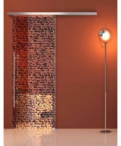 Modern Decorative Glass Sliding Doors <3