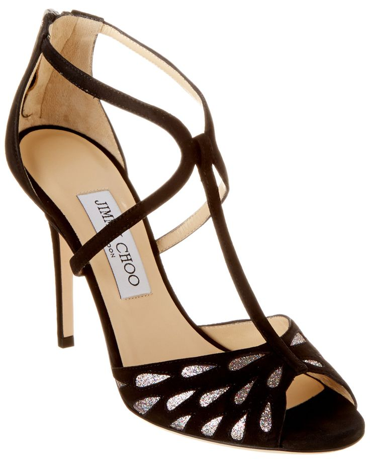 Spotted this Jimmy Choo Dida Suede Glitter Pump on Rue La La. Shop (quickly!).