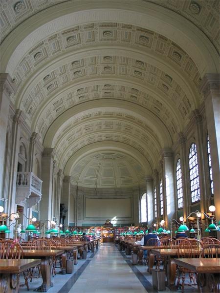 Boston Public LIbrary (Boston, MA)