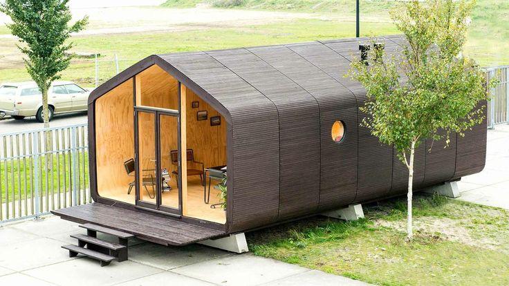 Crean una casa sostenible y que puede ser ensamblada en un día