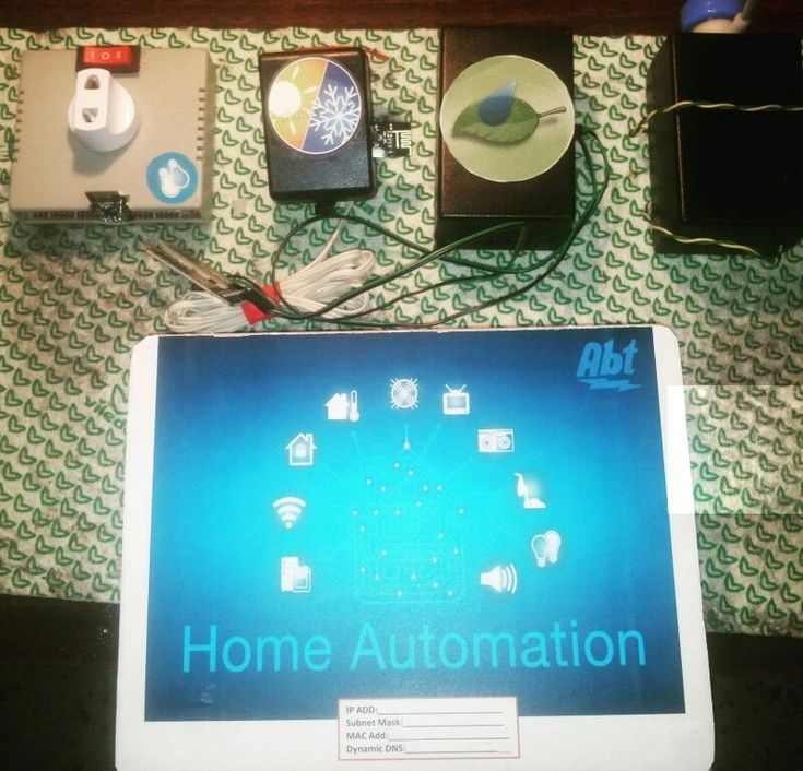 Arduino home automation system