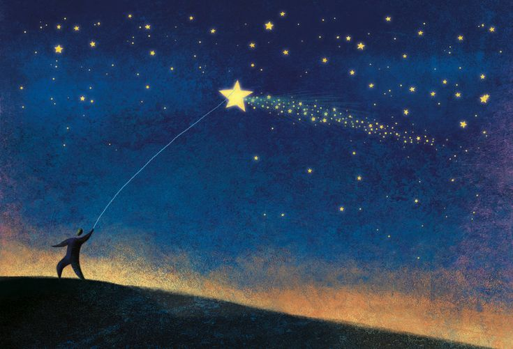 """Stars"" , made by: Roweig aka Roberto Weigand  - (Star on a string)"