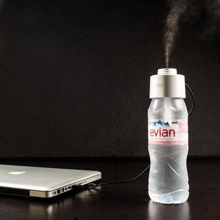 Amazing Humidifier by Bagus Global // Turn your Water Bottle into a Humidifier #productdesign #industrialdesign