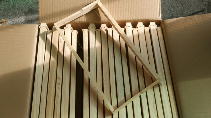 Hive frames: New Zealand Timber