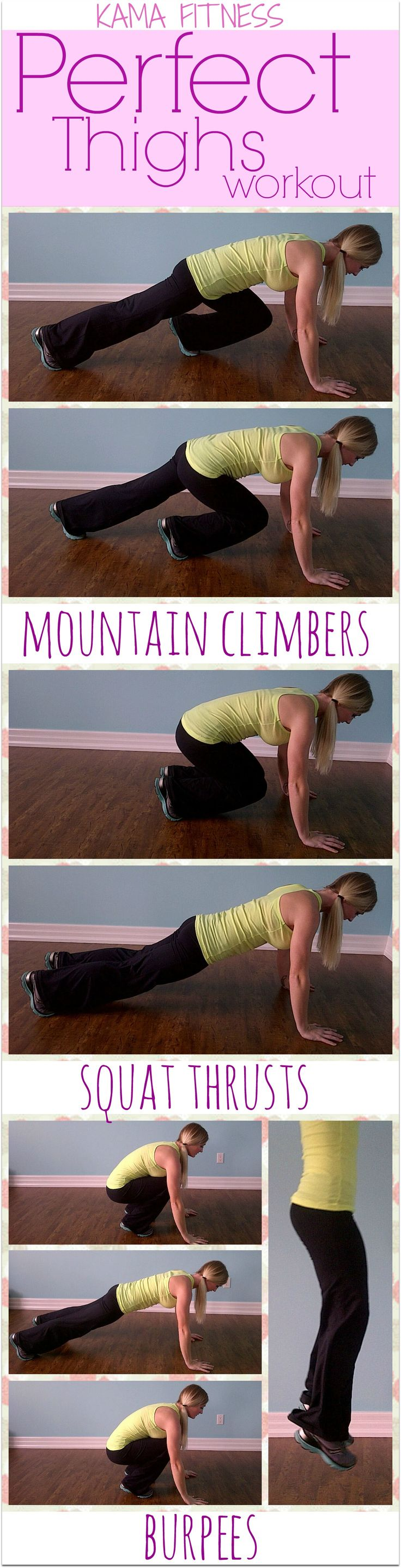 The Workout....  Complete as many rounds as possible in 15 minutes.... 15 Mountain Climbers 5 Squat Thrusts 5 Burpees
