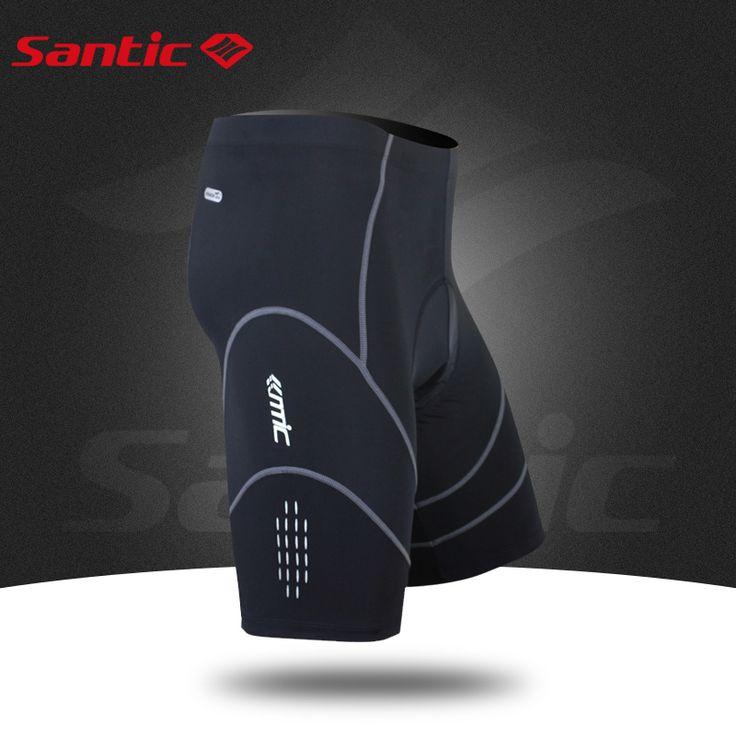 Santic 4D Coolmax Мягкий Велосипедные Шорты Противоударный MTB Дорожный Велосипед Шорты Светоотражающие Бермуды Ciclismo S-XXXL MC05034 #CLICK! #clothing, #shoes, #jewelry, #women, #men, #hats