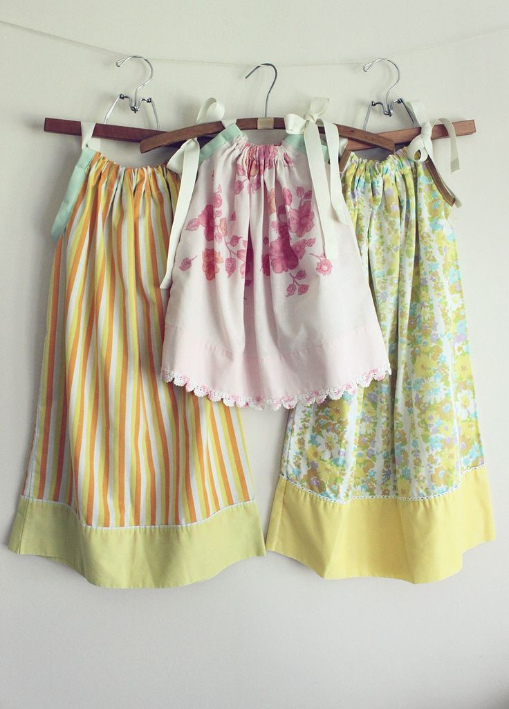 pillow case dress - @Brenda Franklin Hamric can you help me make one of these for mailey? I want to find an old floral pillow case....