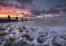 Sunset Beach, Penmaenmawr, Wales