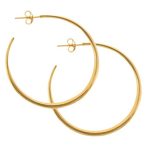 Buy Dinny Hall Classic Hoop Earrings Online at johnlewis.com