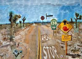 Resultado de imagen para david hockney pearblossom highway