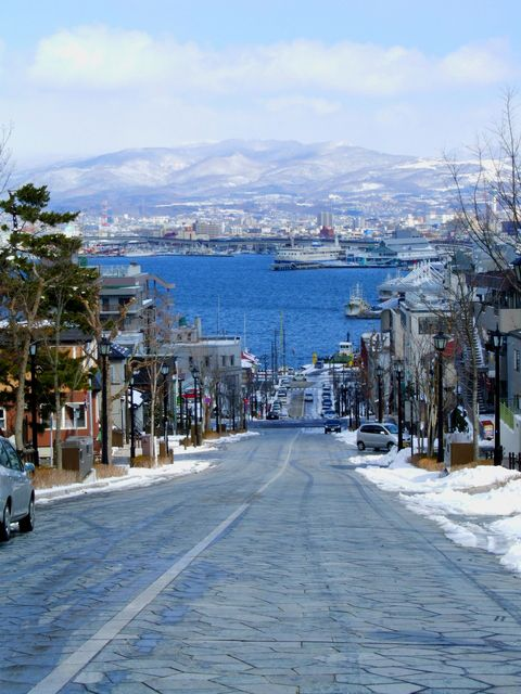 hakodate, hokkaido, japan. Our last port of call in Japan.