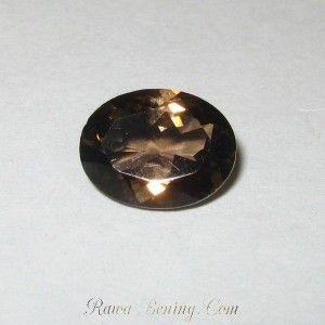 Natural Smoky Quartz Oval 1.68 carat