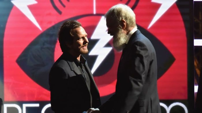 Eddie Vedder to Honor David Letterman With Mark Twain Prize - Rolling Stone