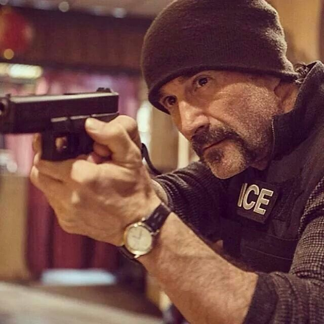 Elias Koteas, Chicago PD. You have something that oozes sexy to me