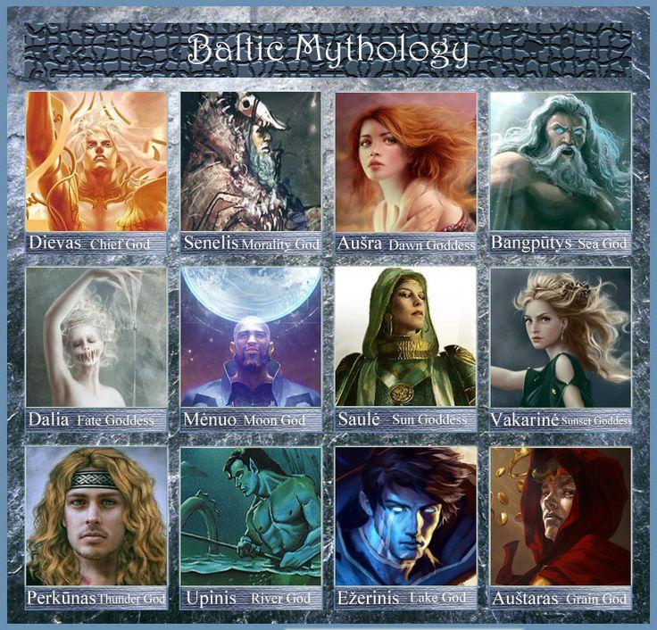 baltic mythology