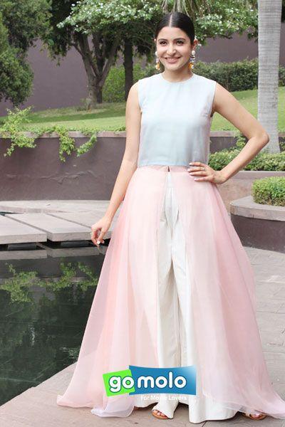 Anushka Sharma at the Press meet of Hindi movie 'Bombay Velvet' in New Delhi