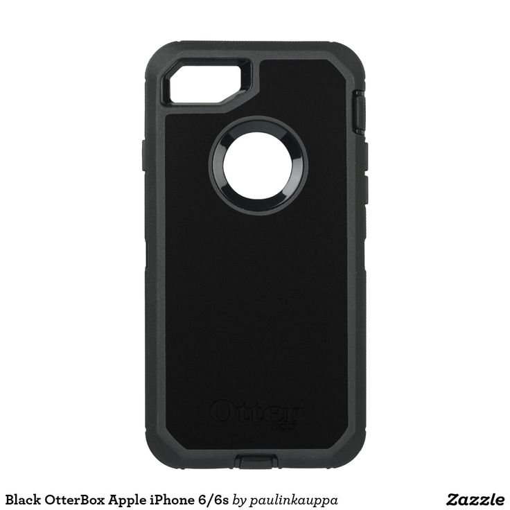 Black OtterBox Apple iPhone 7 Defender Case