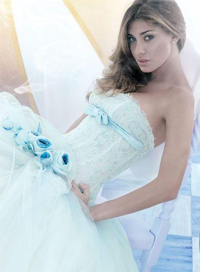 Verde menta - Vestito da Sposa,  Alessandro Couture