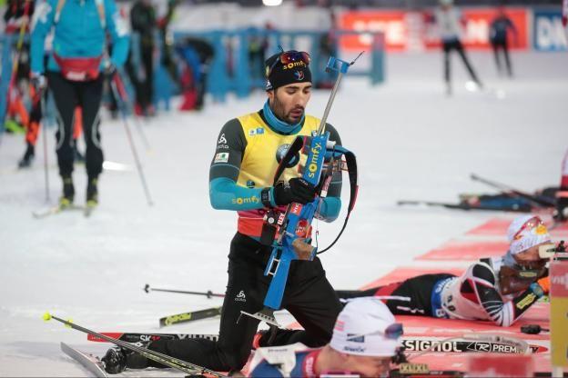 Vainqueur pour la neuvième fois cette saison en douze courses, Martin Fourcade a apprécié sa course même s'il avoue avoir été «nerveux» avant le départ et garde dans sa tête le record de victoires de Bjoerndalen sur une saison (12)..