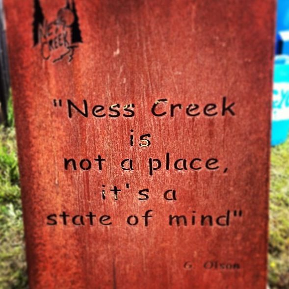 Ness creek is my second home