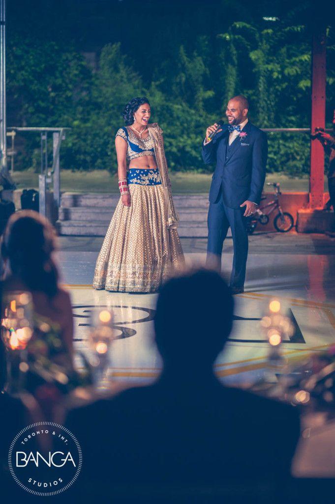 Rose   Raman | A Beautiful Toronto Indian Wedding Reception by Banga Studios