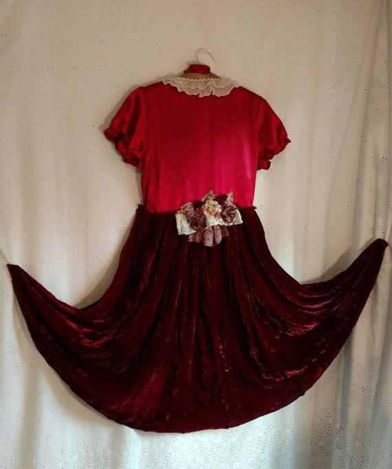 VICTORIAN STEAMPUNK DUSTER Jacket Dress Altered by MissPoppysFancy