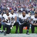 NFL players coaches owners lock arms kneel during national anthem http://ift.tt/2we37tf