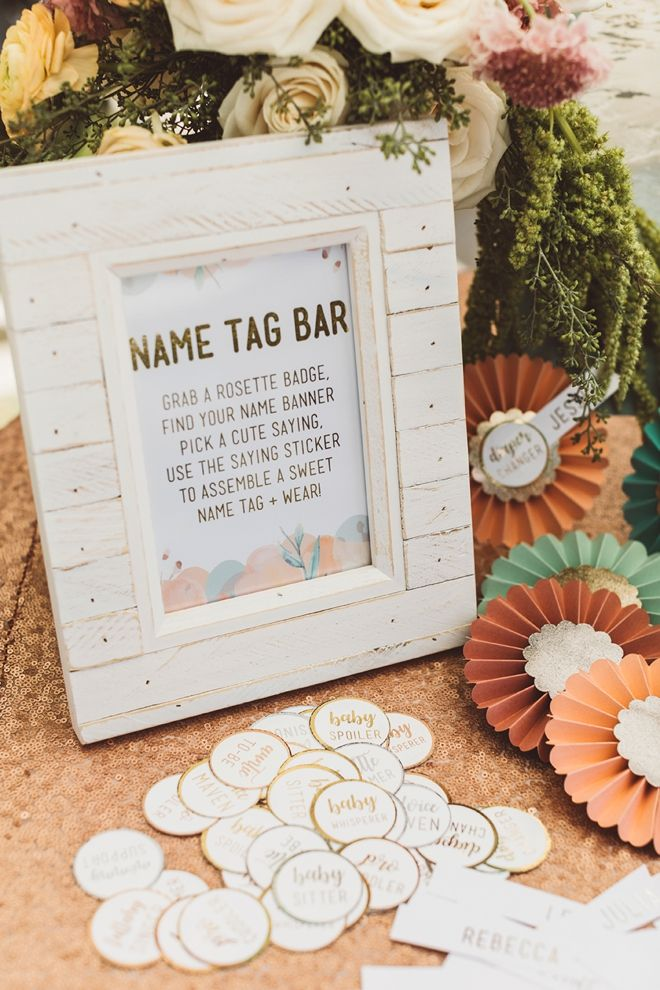 You Have To See This Gorgeous Mint Blush Diy Baby Shower