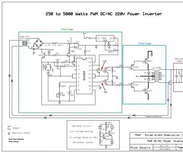 1kva Inverter Circuit Diagram Manual Power Inverters Acdc Circuit Diagram