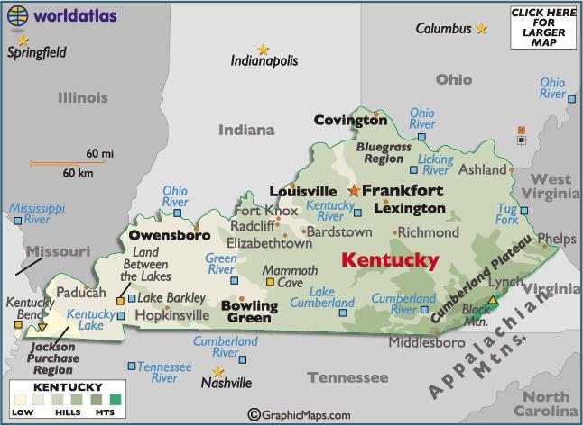 Top 10 Punto Medio Noticias   Kentucky Map With Capital Kentucky State Capital Map on kentucky forest map, kentucky map map, united states state capital map, ohio state capital map, texas state capital map, oklahoma city state capital map, new york state capital map, iowa state capital map, hawaii state capital map, kentucky climate map, kentucky union map, charlotte state capital map, ny state capital map, kentucky mountains map, italy state capital map,