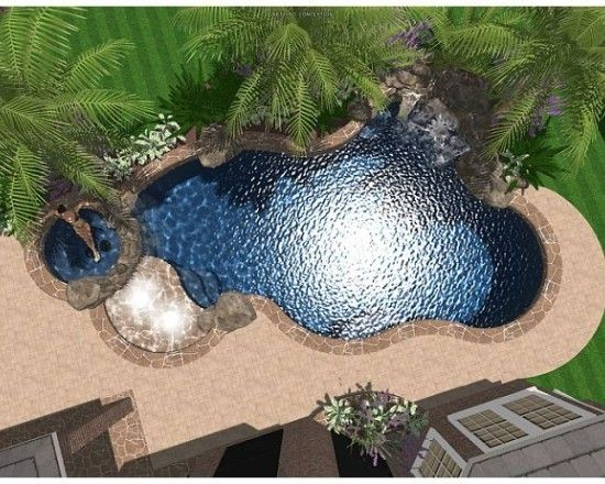 17 best images about pools on pinterest gunite pool for Pool design free