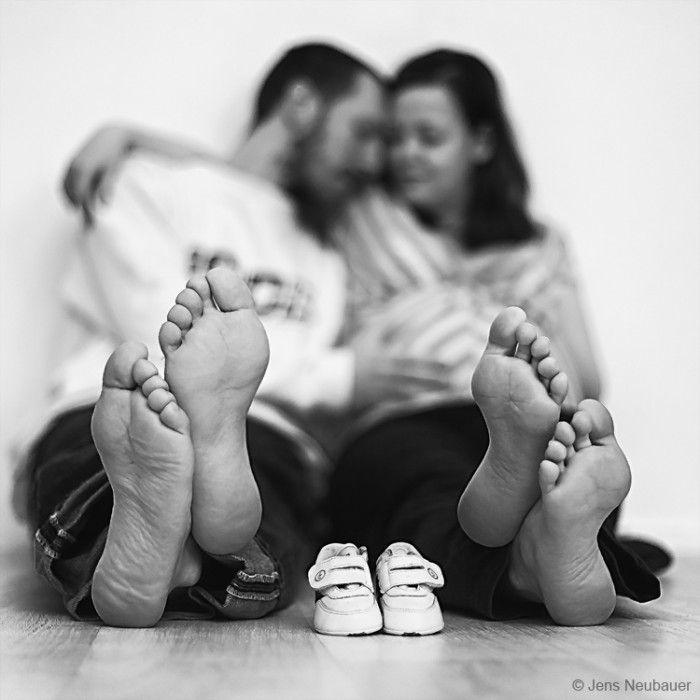 Tolle Idee die freudige Botschaft einer Schwangerschaft zu verbreiten. Noch mehr Ideen gibt es auf www.Spaaz.de