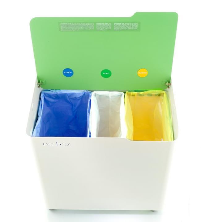 Las 25 mejores ideas sobre cubos reciclaje en pinterest y for Papelera reciclaje ikea
