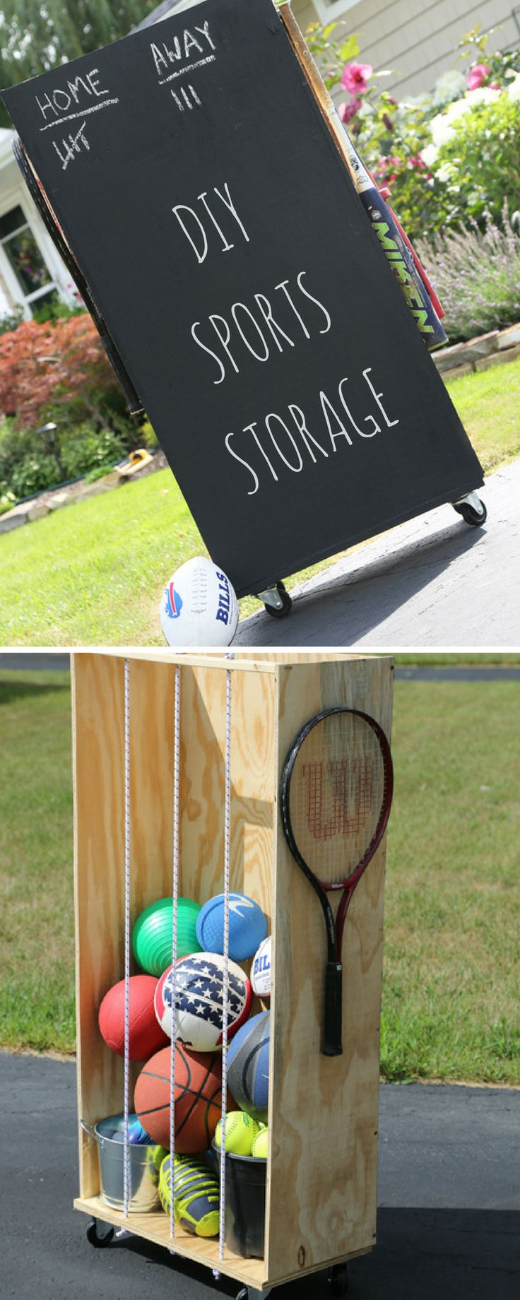 How to Store Sports Equipment