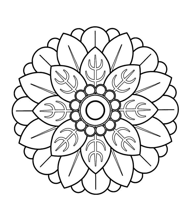 Mandalas para pintar, imprimir y colorear. A través de las diferentes combinaciones de colores, los mandalas producen a su vez diferentes impresiones.  <br><br> <b>mandalasparapintar.blogspot.com</b> <br><br> Muchas gracias por tu visita! Aqui podras encontrar mas de 2.700 mandalas! (4 millones de personas han visto esta pagina)