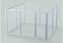 Commercial & Heavy Duty Free Standing Dog Kennels For Sale | TK Products LLC