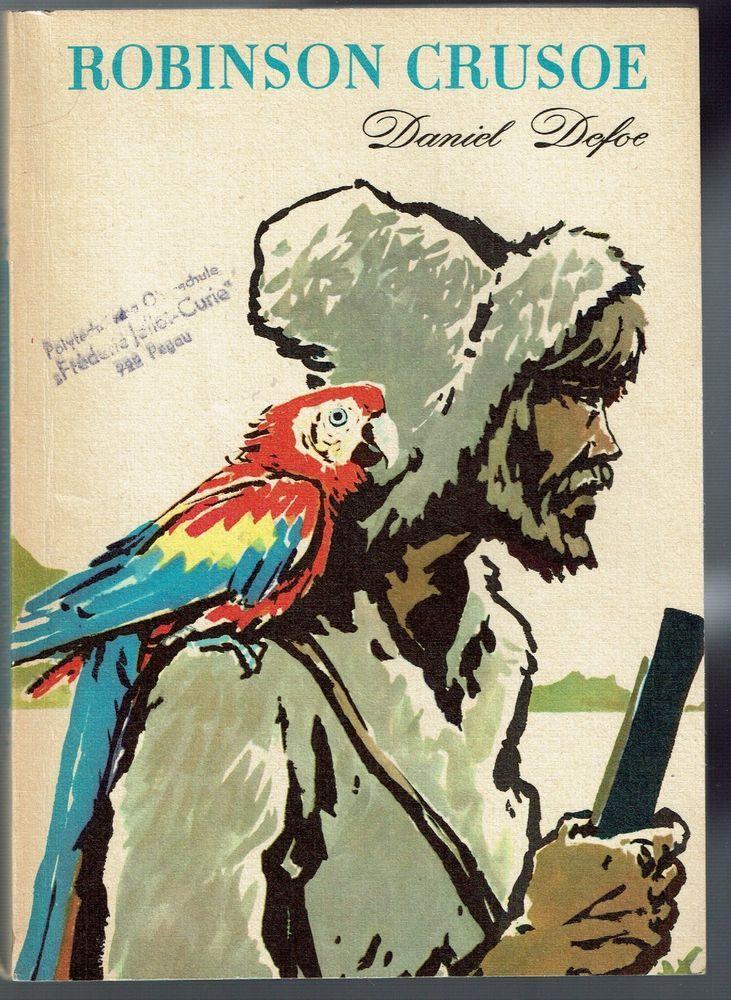 Robinson Crusoe von Daniel Defoe - DDR Schulbuch Volk und Wissen 1971 in Sammeln & Seltenes, DDR & Ostalgie, DDR | eBay!