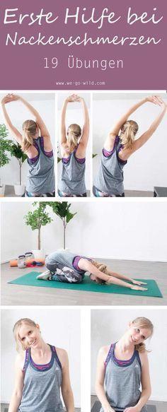 19 effektive Nackenschmerzen Übungen gegen Verspannungen – Christa