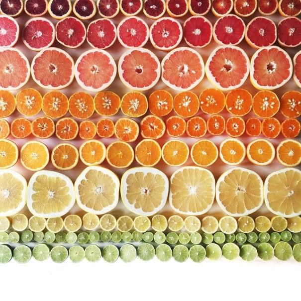 Food as it ripens or cooks and color gradients really get Brittany Wright, of Wright Kitchen, Seattle, going. Inspired by abstract artists, not food photography, her goal is to get people more familiar with what they eat by documenting how it changes.