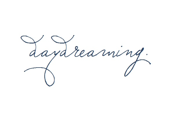 type- have to get this... used to be called a daydreamer. Still am. :)